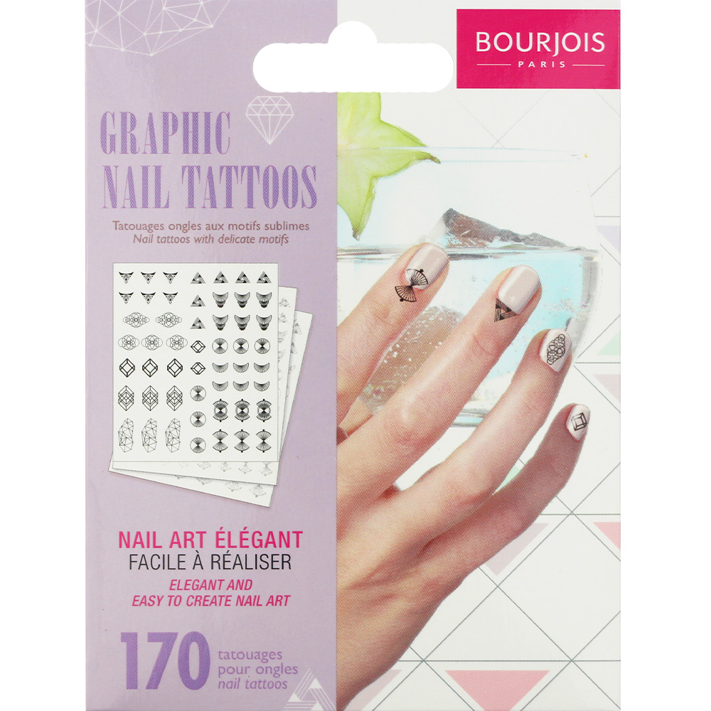 Tatouages pour ongles - Graphic