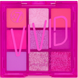 Palette 9 fards Vivid Punchy pink W7