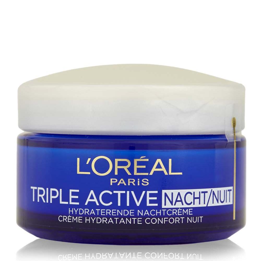 Crème hydratante confort nuit Triple active