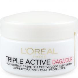 Crème de jour hydratante multi-protectrice Triple active