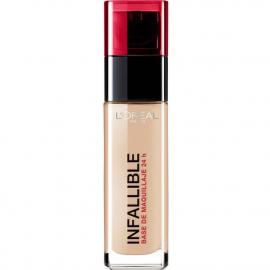 Fond de teint infaillible 24h - 145 Beige rosé L'Oréal