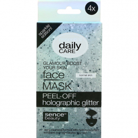 Masque peel-off Holographic glitter X4