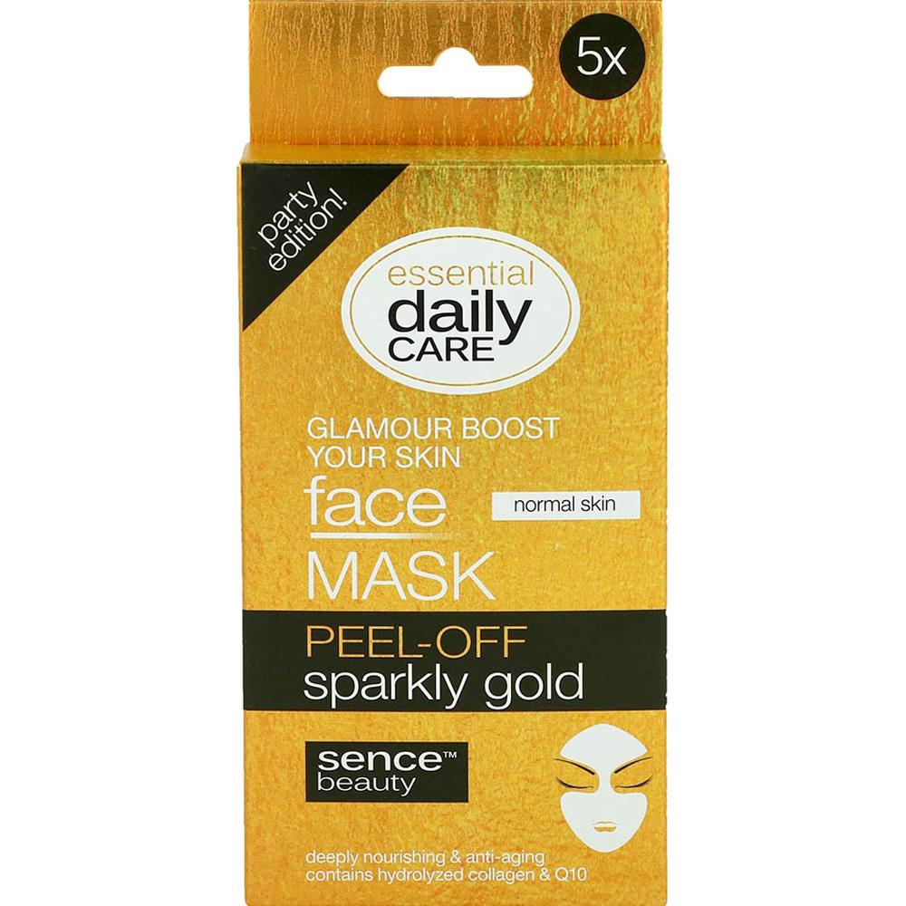 Masque peel-off Sparkly gold X5