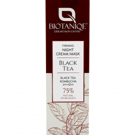 Crème nuit raffermissante Black tea Packaging