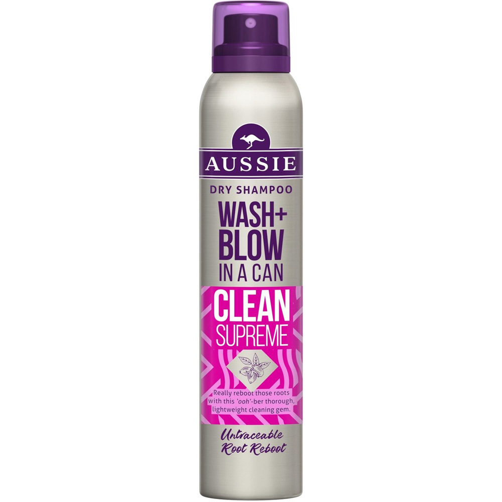 Shampoing sec Wash+Blow Clean supreme