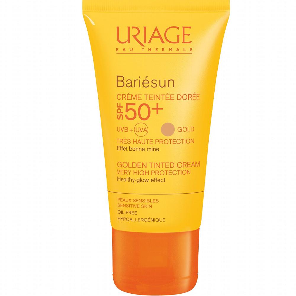 Crème solaire teintée SPF50+ Bariésun - Dorée uriage