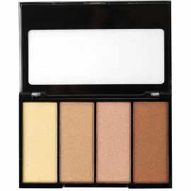 Palette highlighter ultra-glow Sun kiss poudres