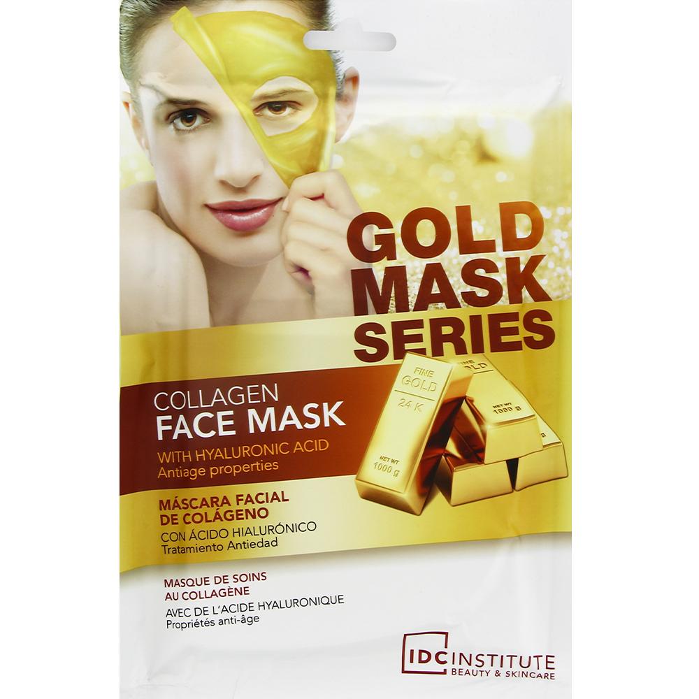Masque visage collagène et or