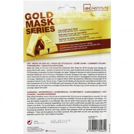 Masque visage collagène et or ingrédients