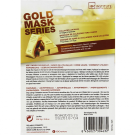 Masque lèvres collagène or ingrédients