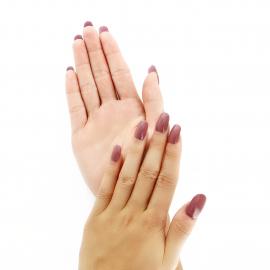 Vernis à ongles -  Rose antique manucure
