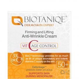 Crème raffermissante 50+ Vit C age control biotaniqe packaging