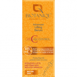 Sérum liftant Vit C age control biotaniqe packaging