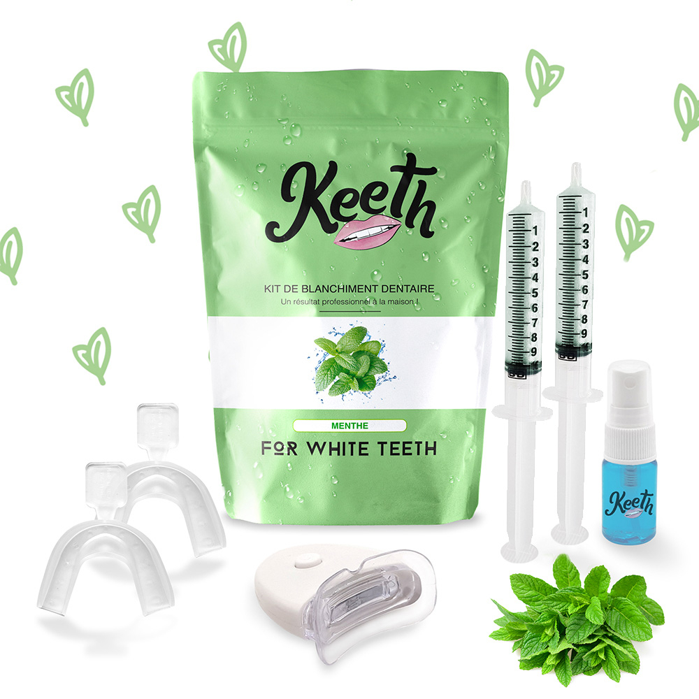 Kit blanchiment dentaire à la menthe - Keeth