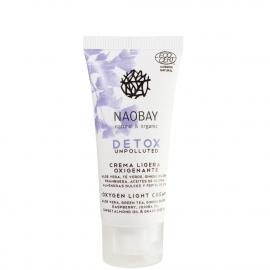 Crème légère Detox oxygénante bio 20 ml offerte