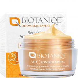 Crème réparatrice 60+ Vit C age control biotaniqe