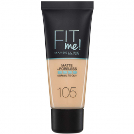 Fond de teint matifiant Fit me ! - 105 Ivoire naturel