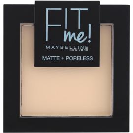 Poudre compacte Fit Me! Matte + Poreless - 104 Ivoire clair