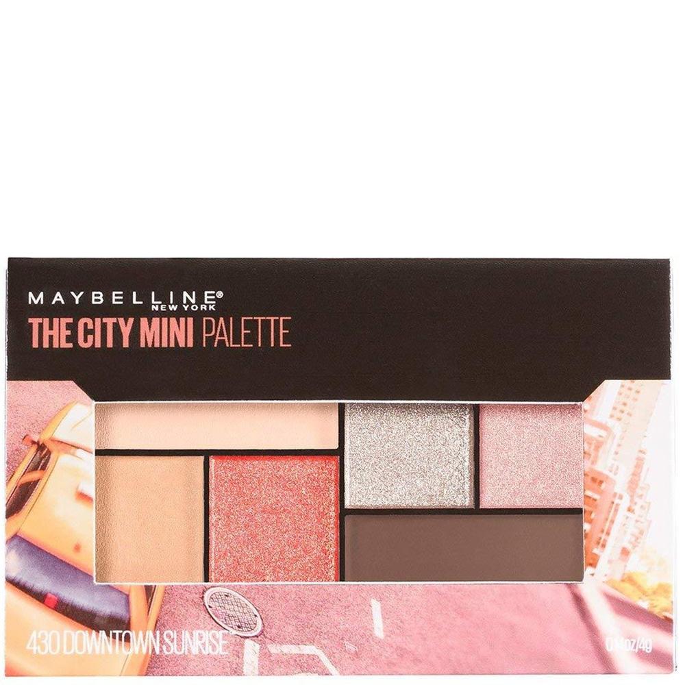 Mini Palette The City Downtown Sunrise
