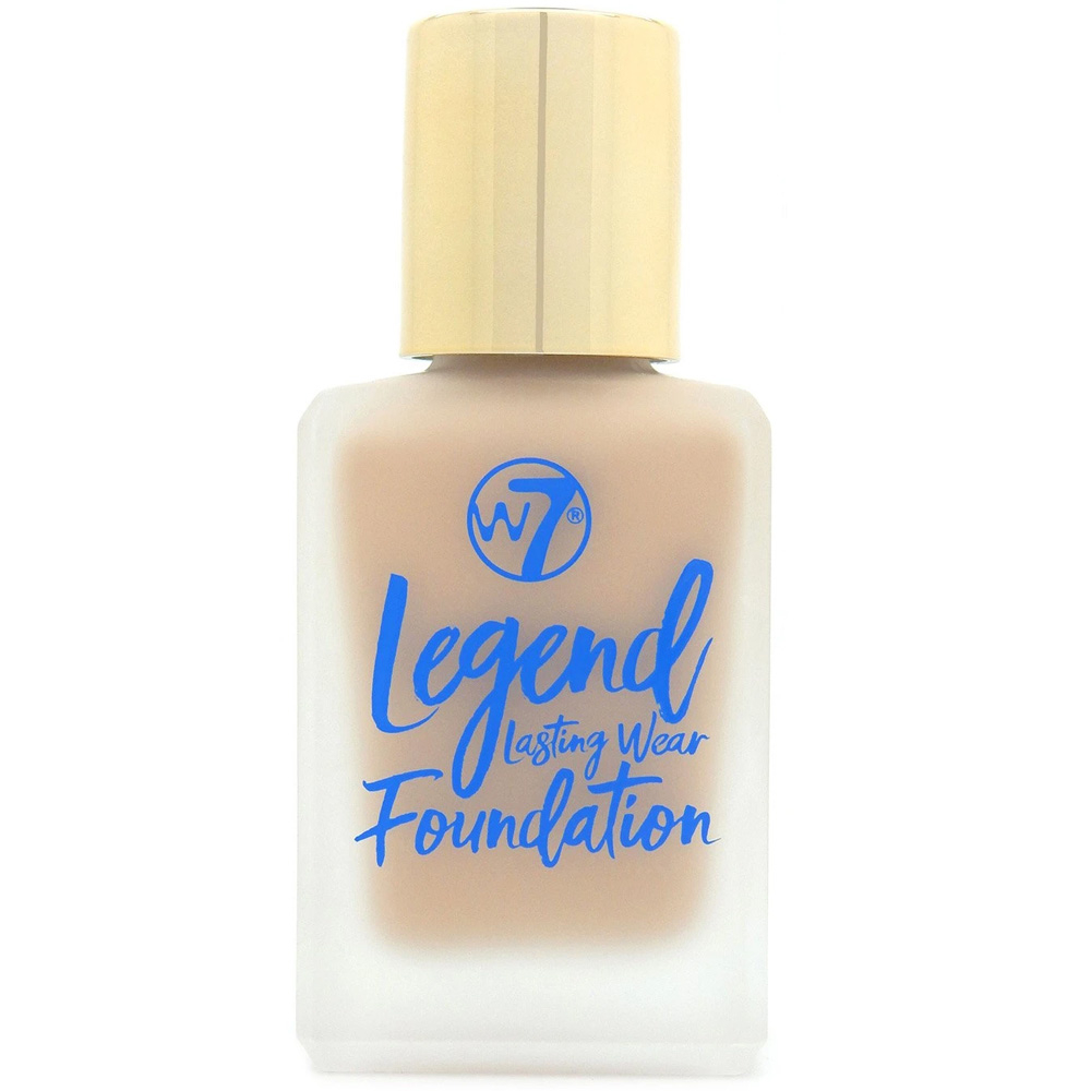 Fond de teint fluide en flacon Legend - Natural Beige de W7.
