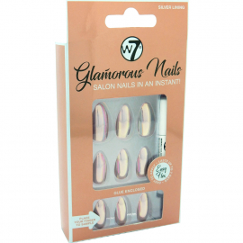 Faux ongles Glamorous – Silver Lining