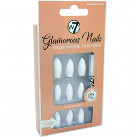 Faux ongles Glamorous – Dashing White
