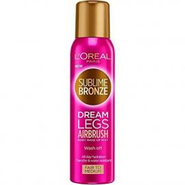 Spray bronzant pour les jambes