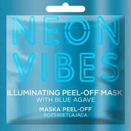 Masque peel-off illuminant