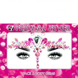 Bijoux visage festival fever couleur rosé - Fairy