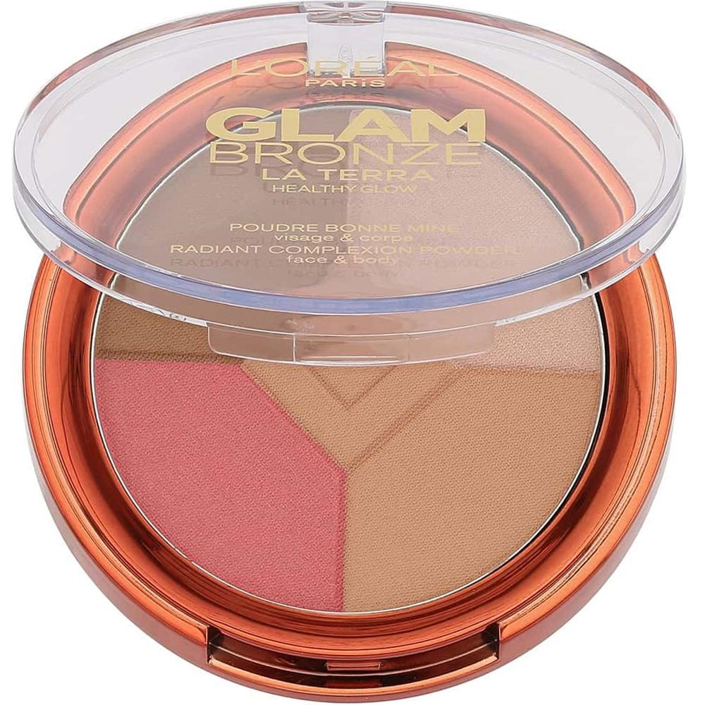 Poudre visage & corps Glam bronze - 01 Light laguna
