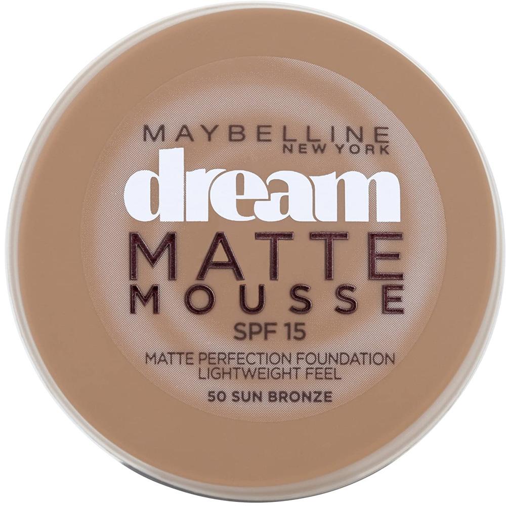 Fond de teint Dream Matte Mousse - 50 Sun bronze