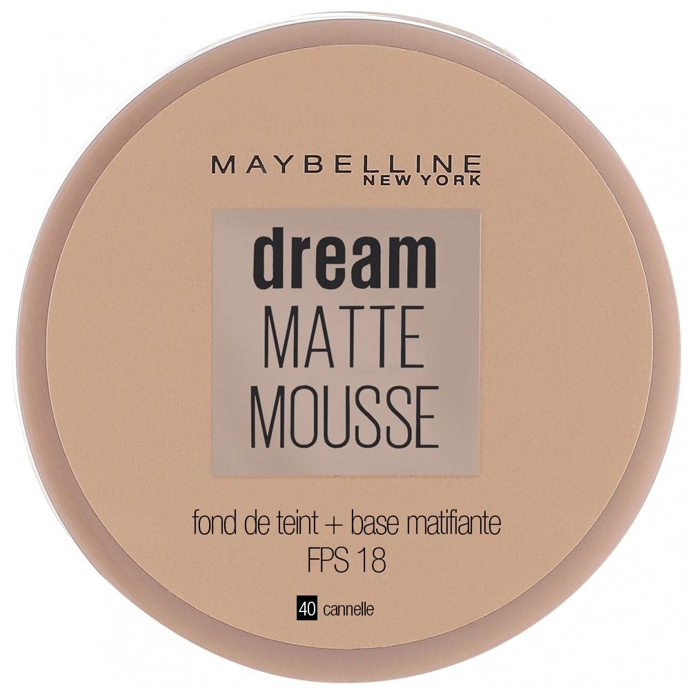 Fond de teint Dream Mat Mousse - 40 Cannelle