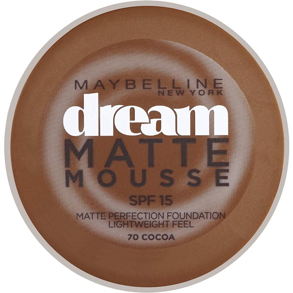 Fond de teint Dream Matte Mousse - 70 Cacao