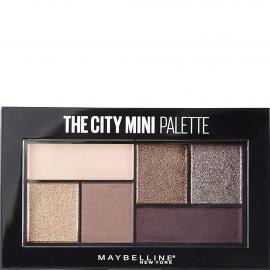 The city mini palette - 410 Chill brunch neutrals. Couleur violet-nude aux finis mats et pailletés.