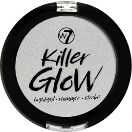 Highlighter compacte argenté Killer Glow de W7.