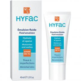 Emulsion fluide en tube hydratante et réparatrice