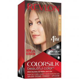 Coloration cheveux Colorsilk - 60 blond foncé