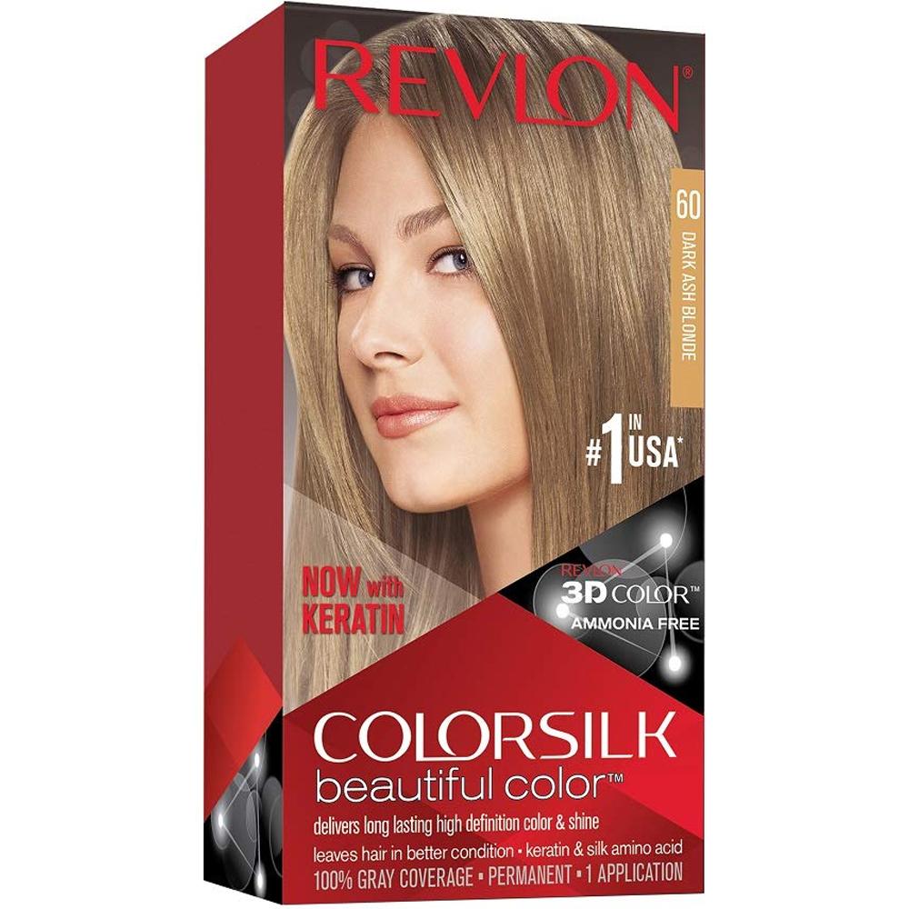 Coloration cheveux Colorsilk - 60 blond foncé