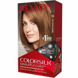 Coloration cheveux Colorsilk - 54 châtain clair doré