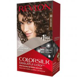 Coloration cheveux Colorsilk - 30 châtain foncé