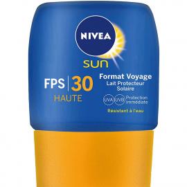 Lait solaire 30+ haute protection Voyage Nivea Sun 50ML