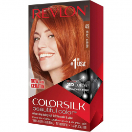 Coloration cheveux Colorsilk - 45 Auburn
