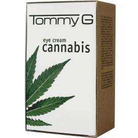 Crème en tube contour des yeux à l'extrait de Cannabis en 30ml.