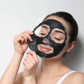 Masque Peel Off au charbon