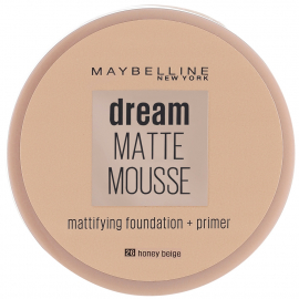 Fond de teint Dream Matte Mousse – 26 Honey beige