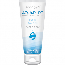 Exfoliant gel visage et corps Aquapure en tube de 150ml