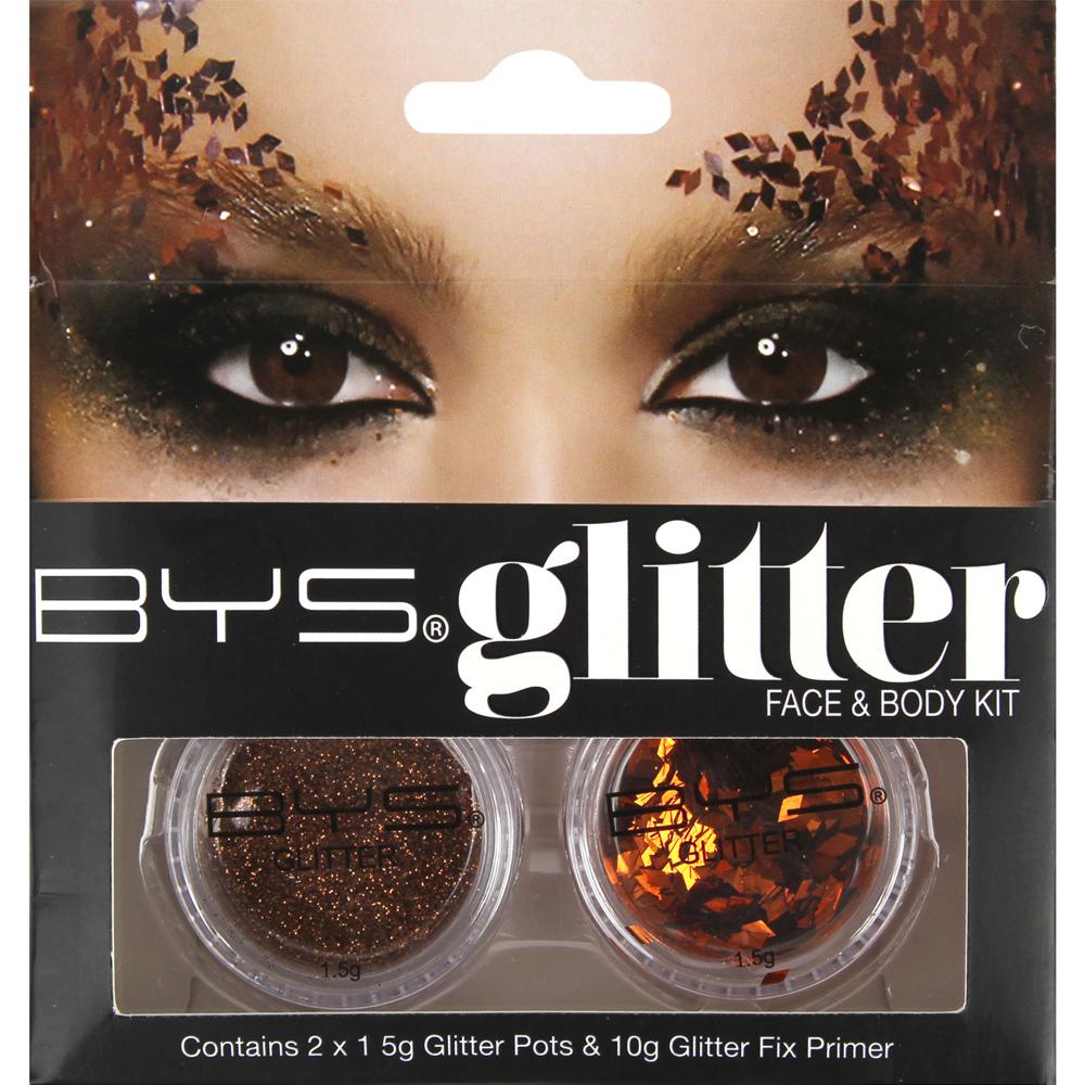 Kit Glitter face & body - Bronze