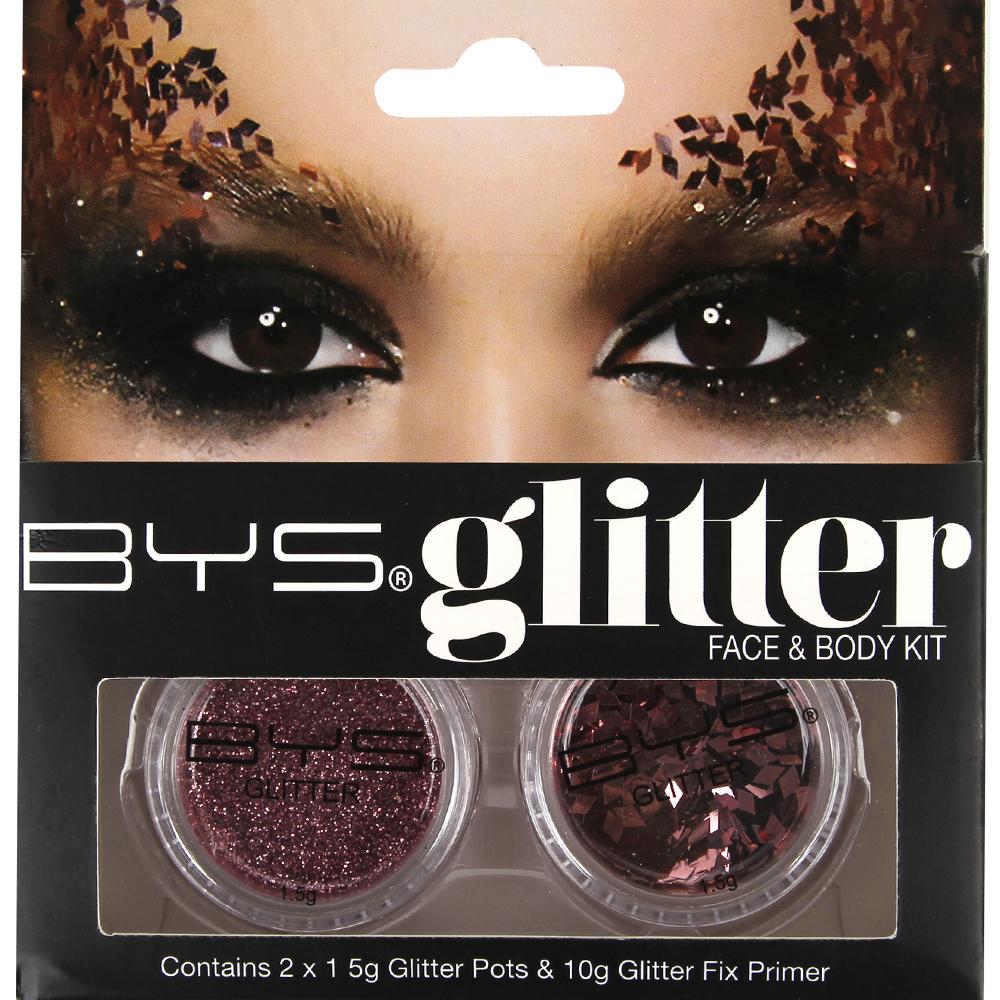 Kit Glitter face & body - Rose gold
