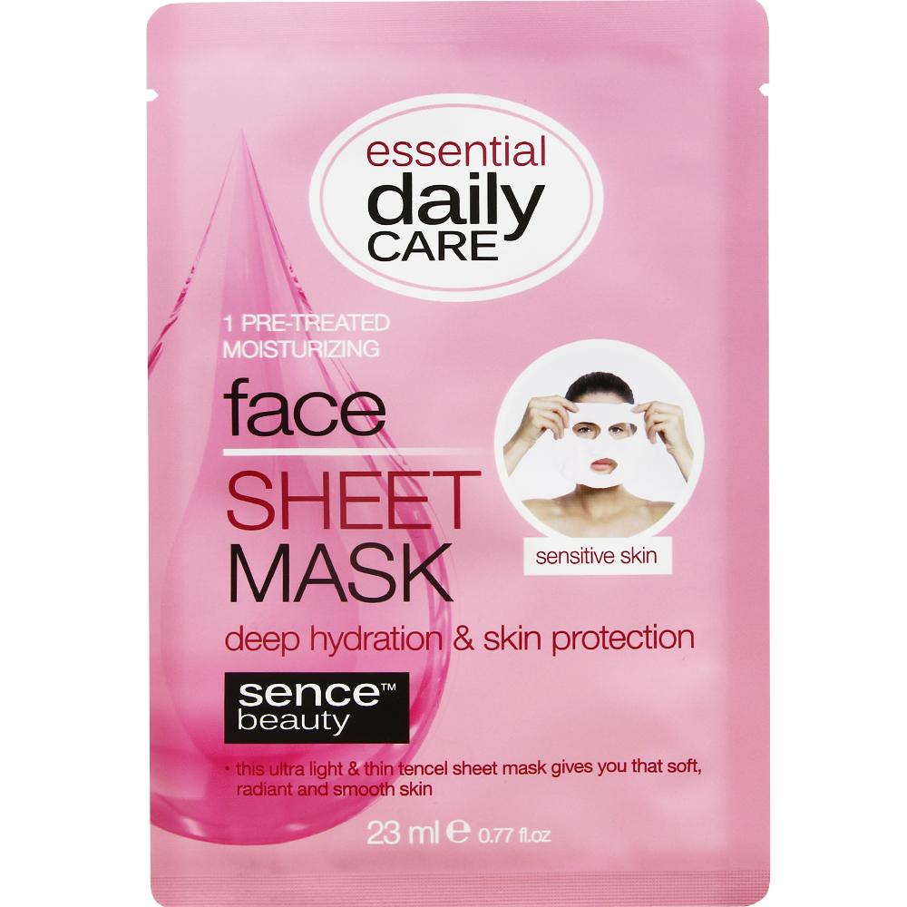 Masque visage tissu hydratation