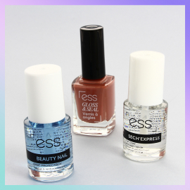 base, top coat et vernis